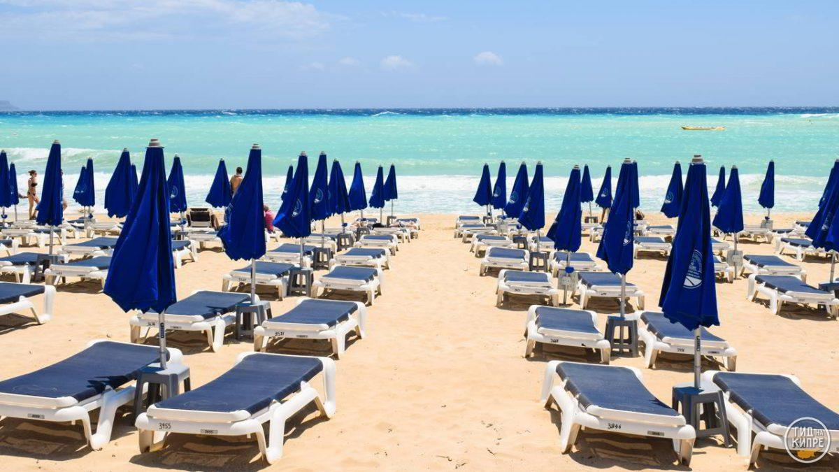 Пляж Нисси Бич Айя-Напа Кипр