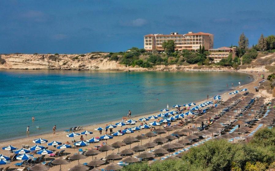 Пляж Корел Бэй Пафос Кипр